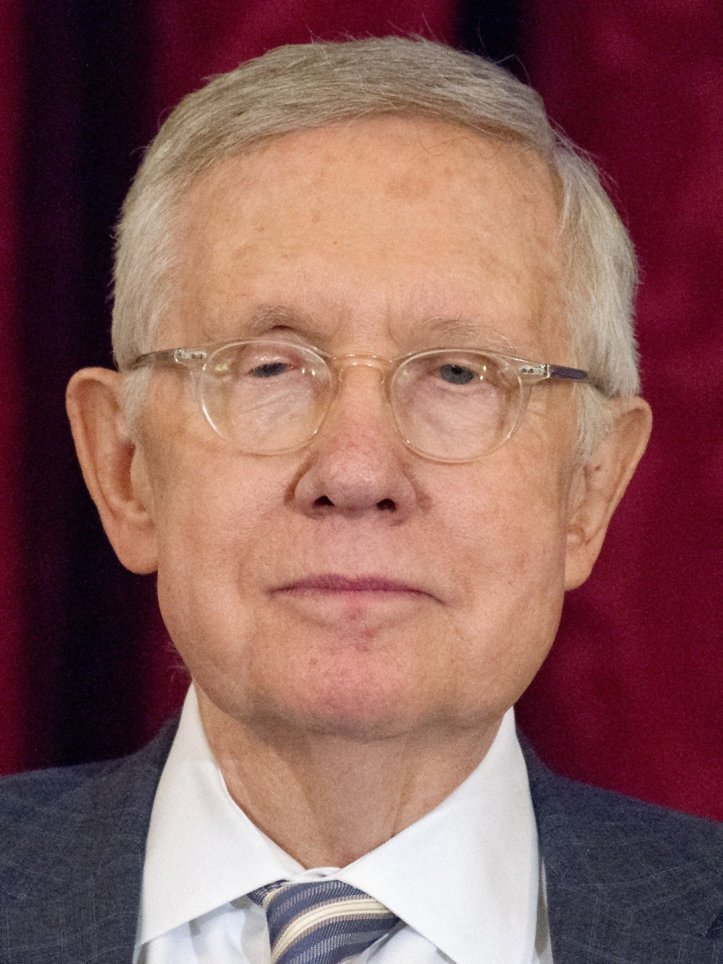 Harry Reid Official Portrait Unveiled